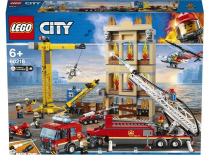 LEGO City 60216 Hasiči v centru města