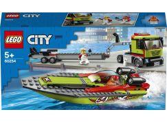 LEGO City 60254 Přeprava závodního člunu