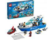 LEGO® City 60277 Policejní hlídková loď
