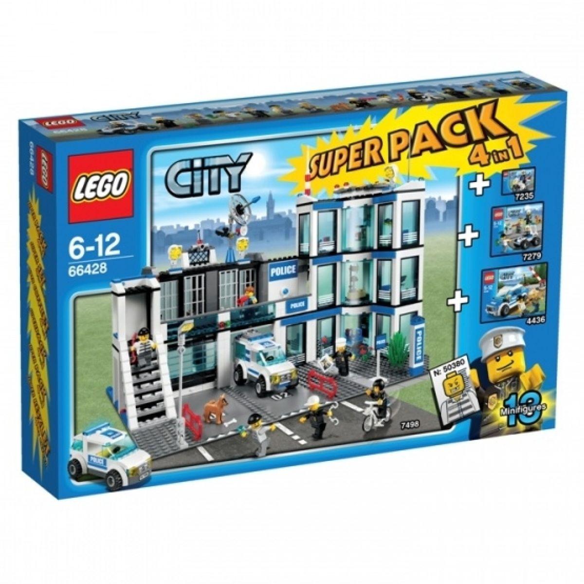 LEGO City 66428 Super Pack Policie 4v1