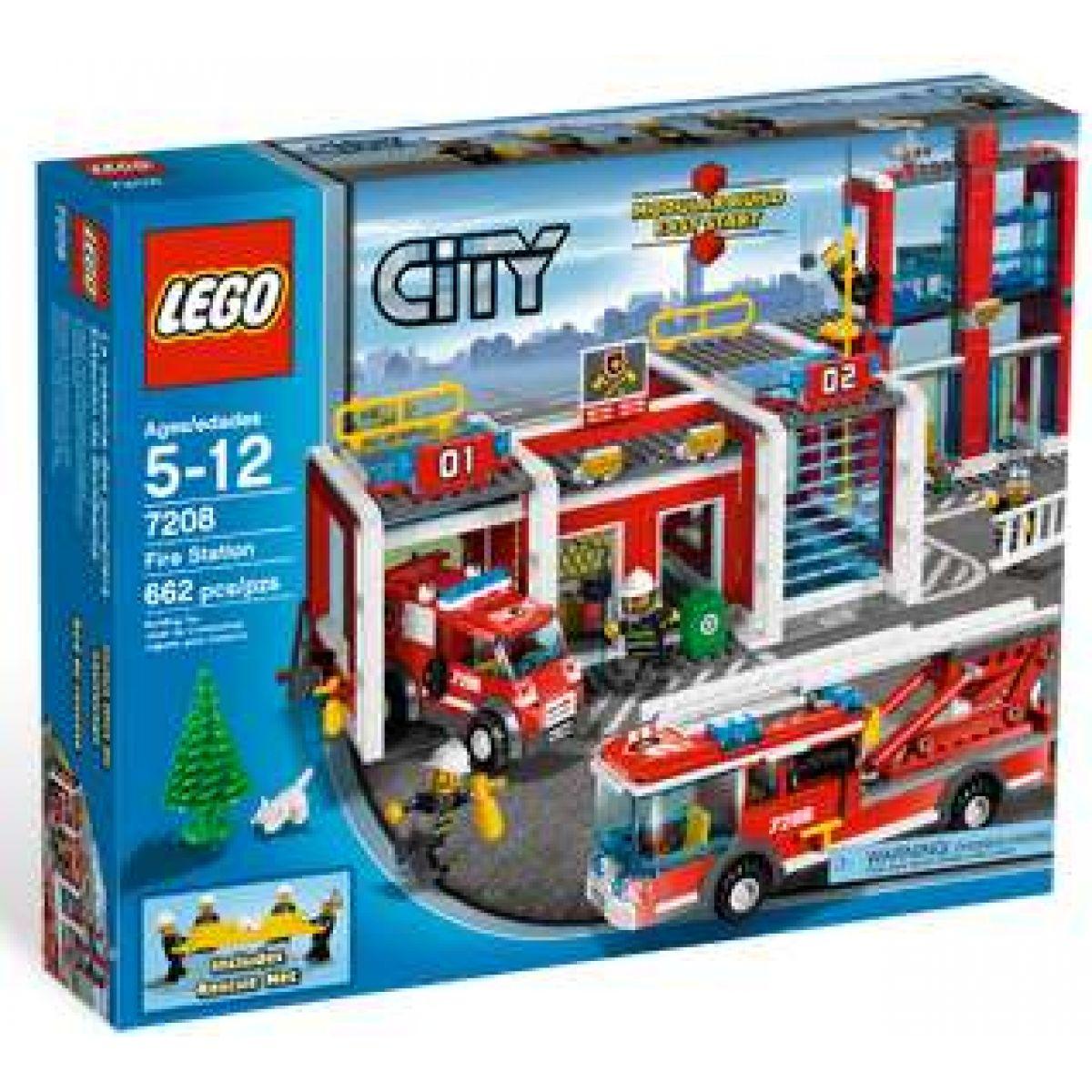 LEGO CITY 7208 Hasičská stanice