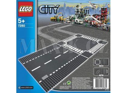 LEGO City 7280 Rovná silnice a křižovatka