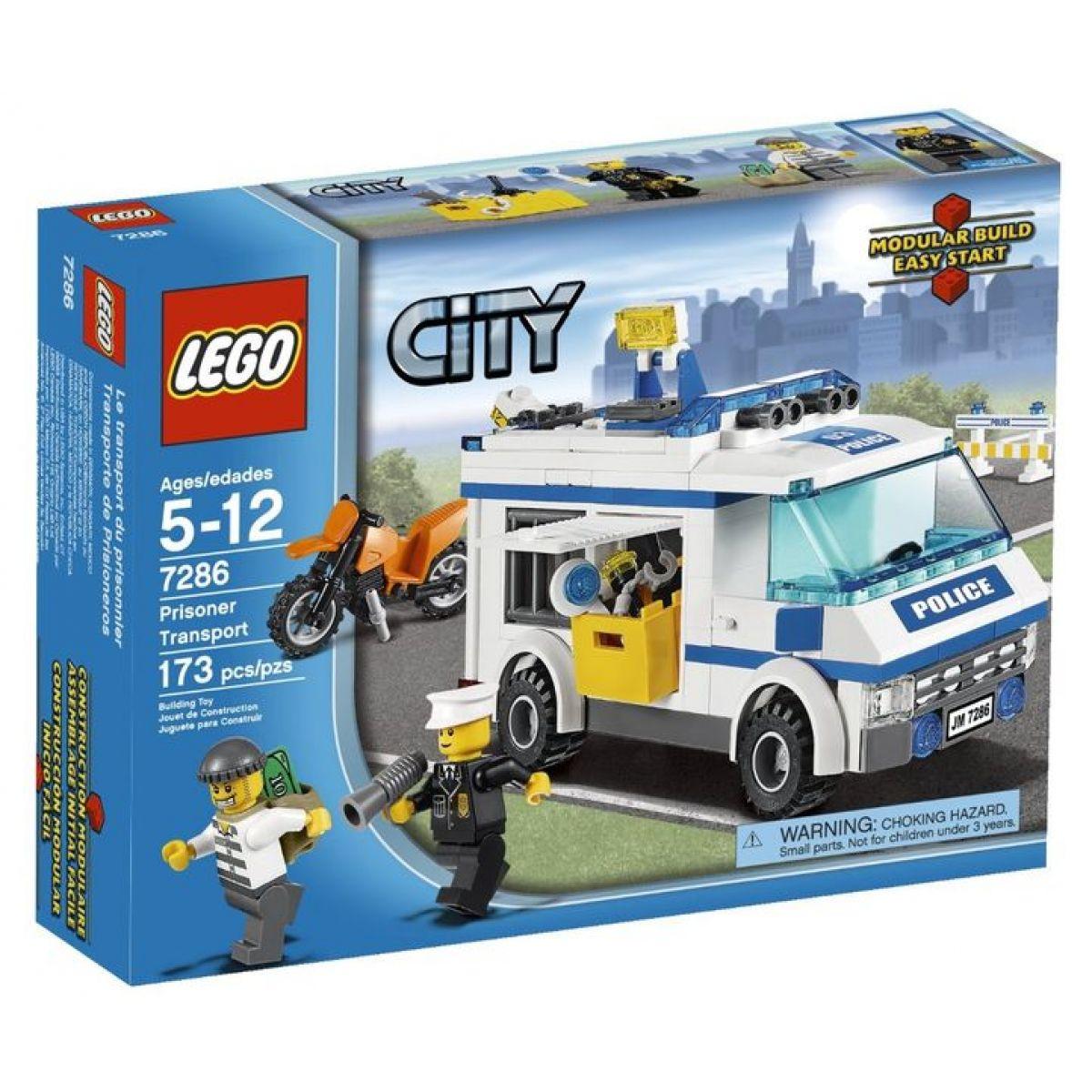 LEGO City 7286 Přeprava vězně