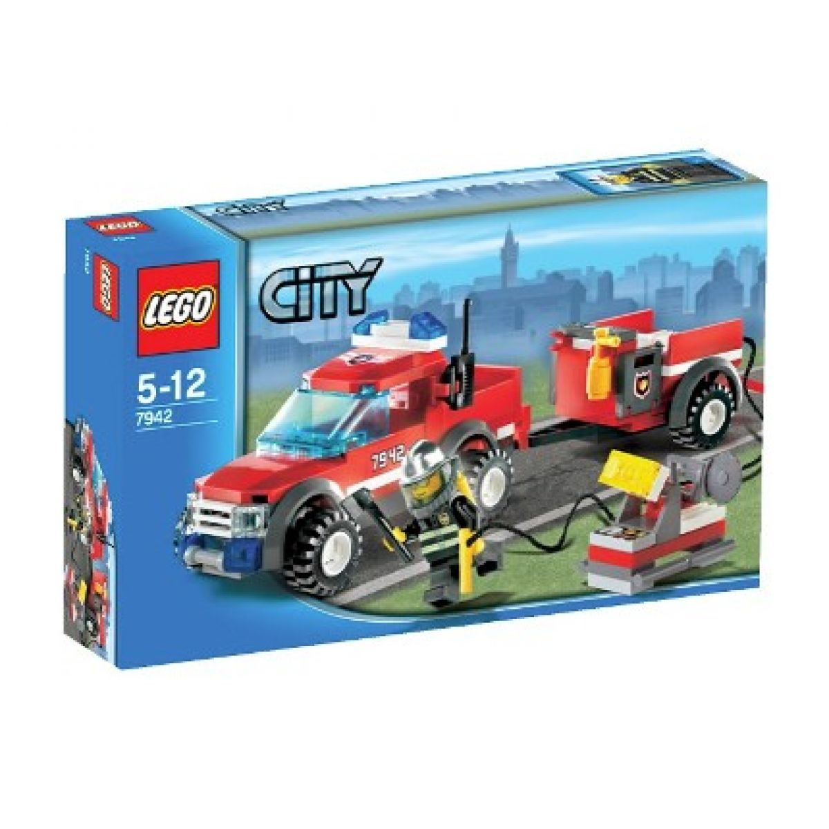 LEGO CITY 7942 Hasičský Pick-up