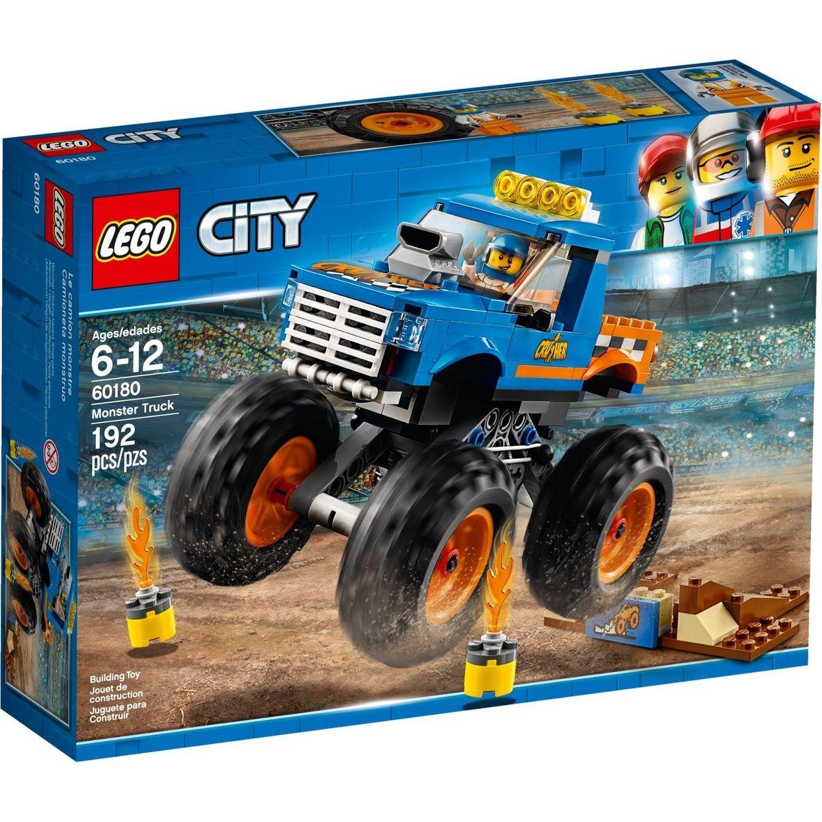 LEGO City Great Vehicles 60180 Monster truck - Poškozený obal