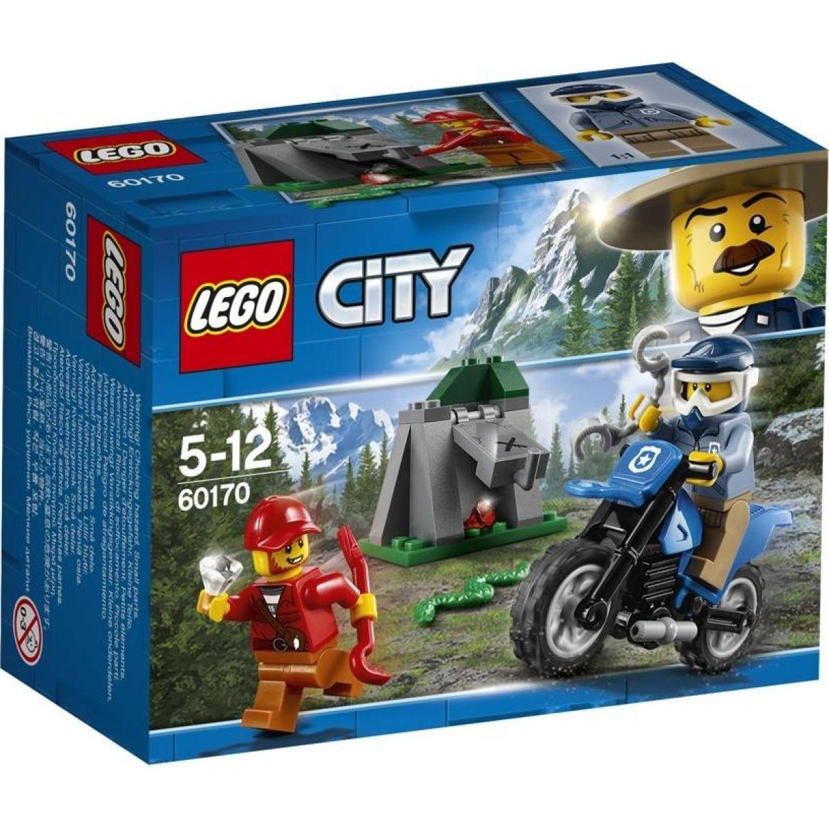 LEGO City Police 60170 Terénní honička - Poškozený obal
