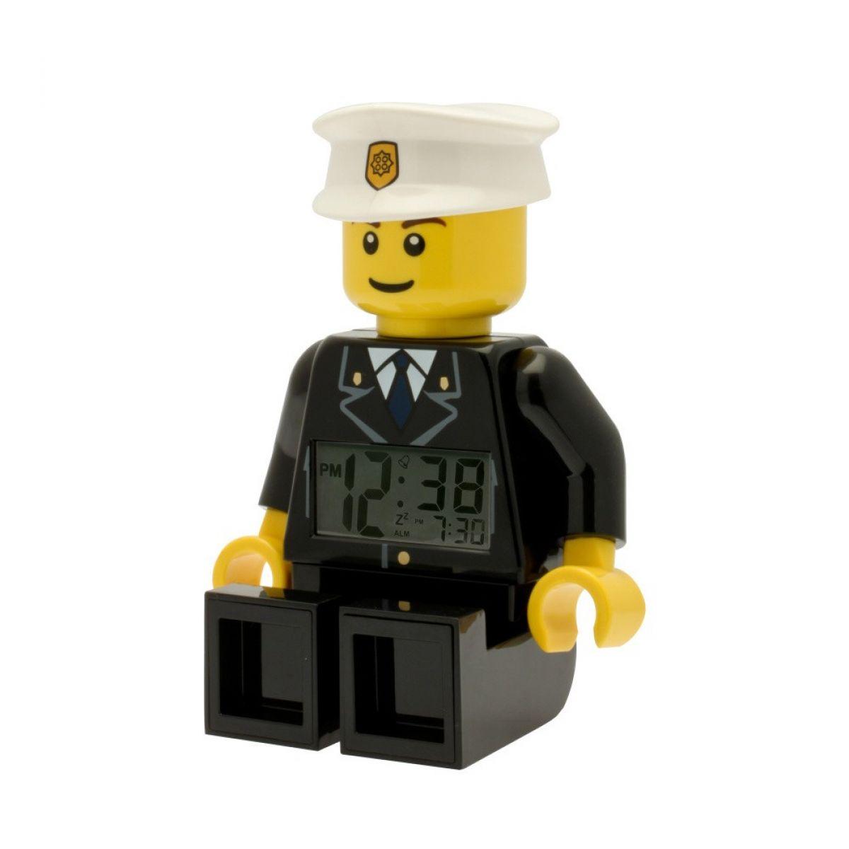 LEGO City Policeman hodiny s budíkem | Maxíkovy hračky