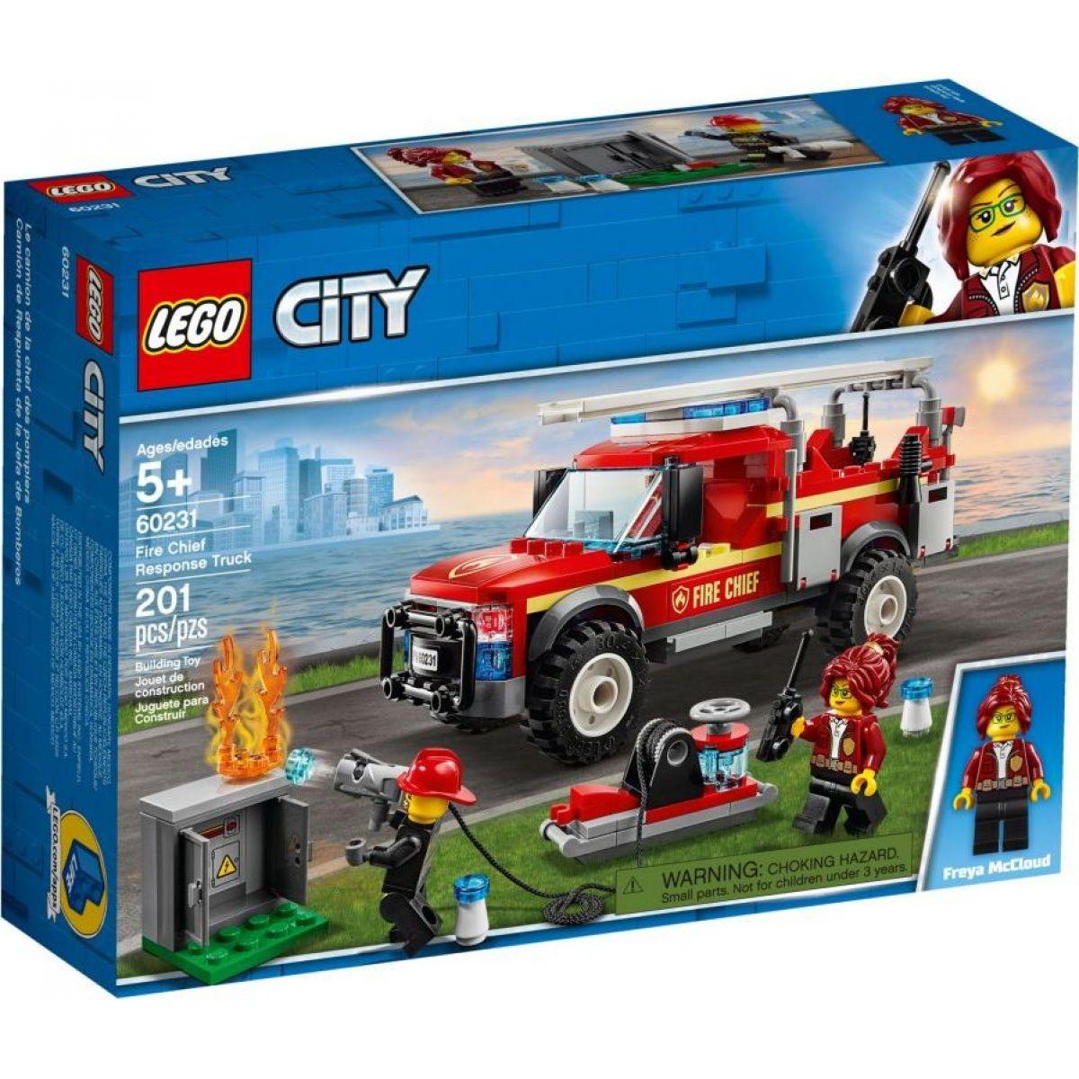 LEGO City Town 60231 Zásahový vůz velitelky hasičů