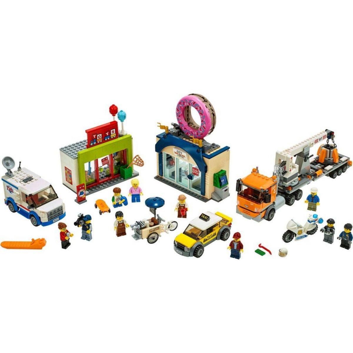 LEGO City Town 60233 Otevření obchodu s koblihami