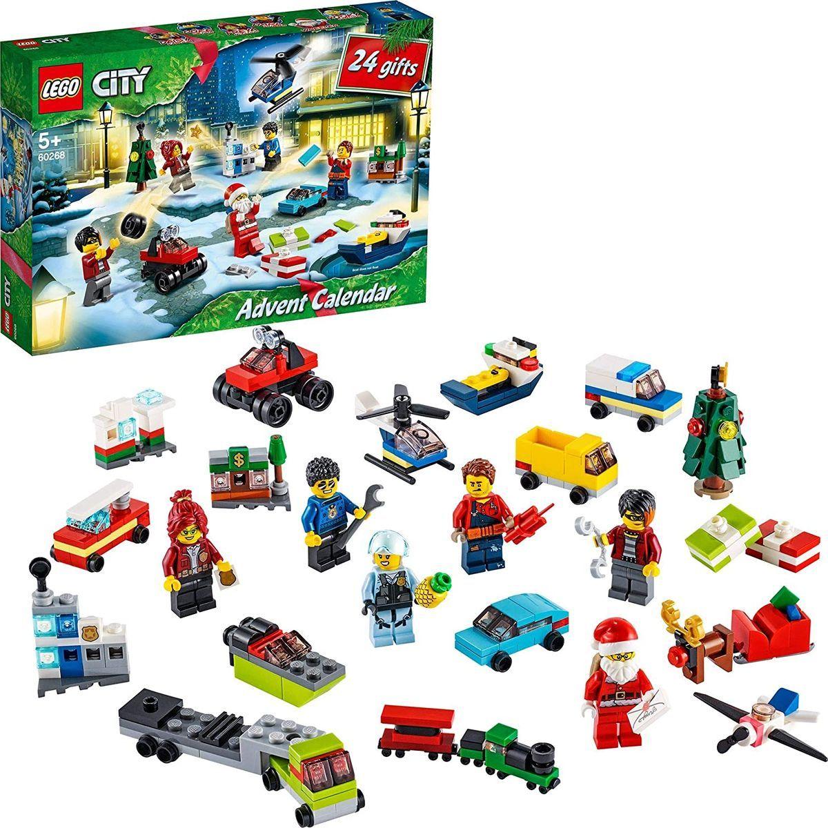 LEGO City Town 60268 Adventní kalendář
