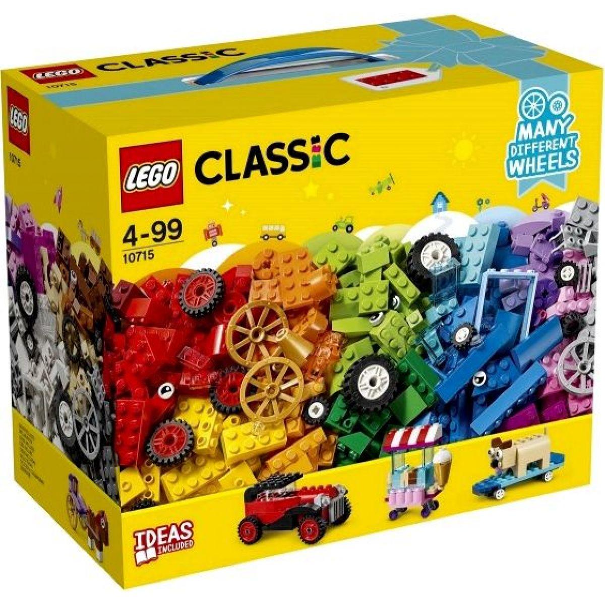 LEGO Classic 10715 Kostky na kolečkách - Poškozený obal