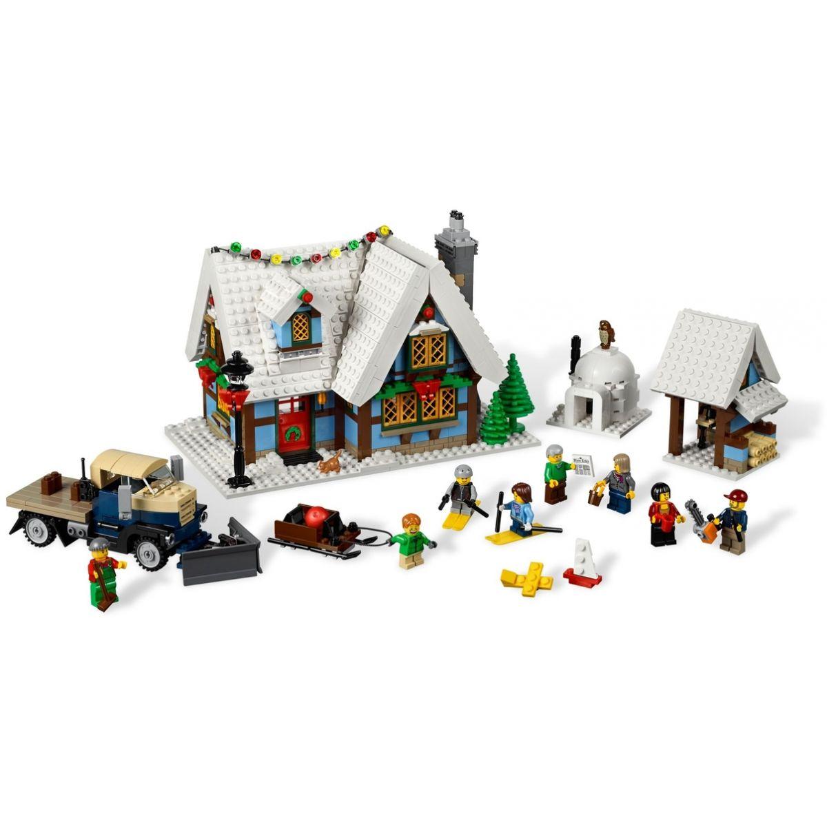 LEGO Creator 10229 Zimní chalupa #2