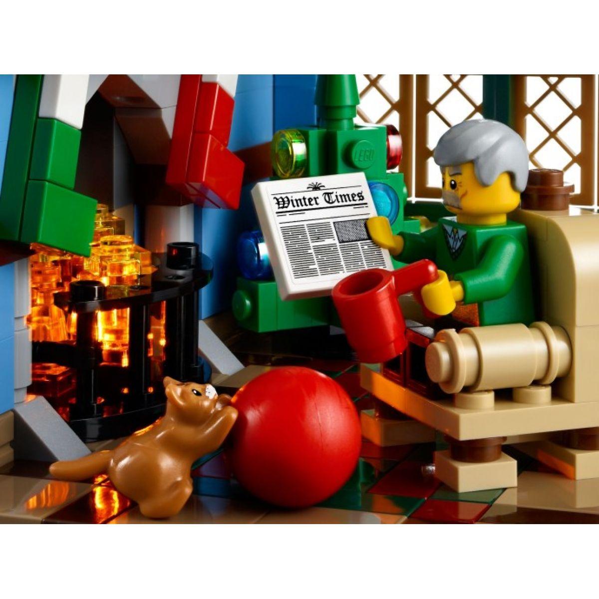 LEGO Creator 10229 Zimní chalupa #5