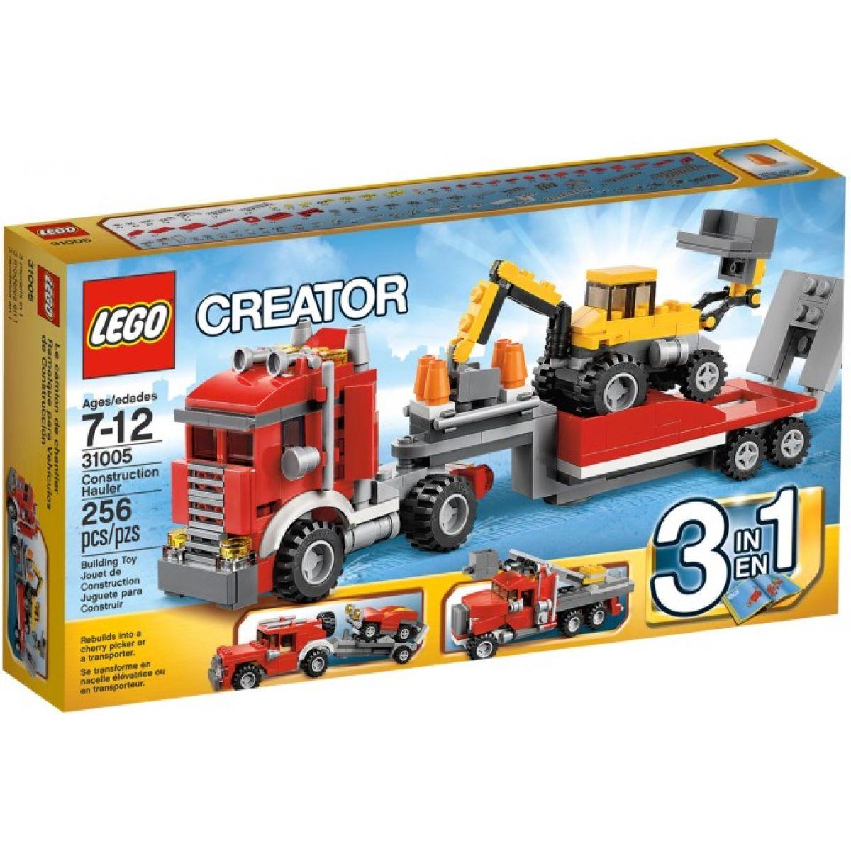 LEGO Creator 31005 Přeprava strojů