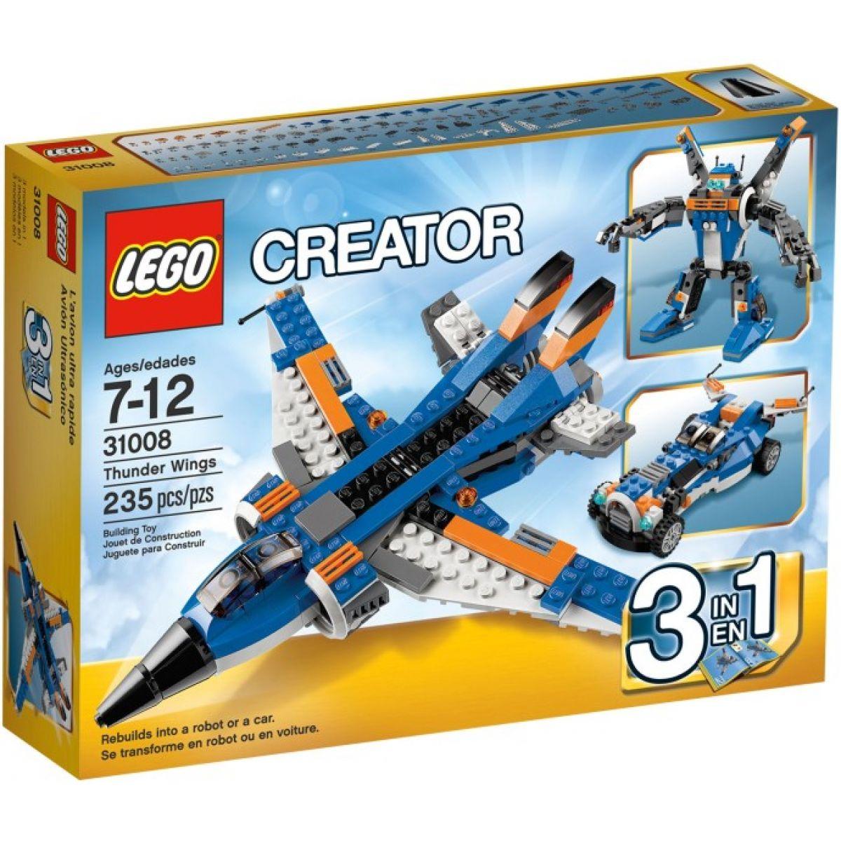 LEGO Creator 31008 Burácející letoun