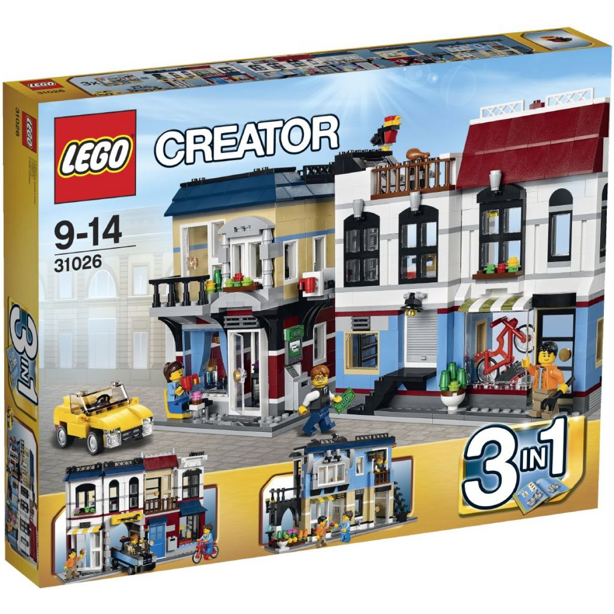 LEGO Creator 31026 Bike shop a kavárna