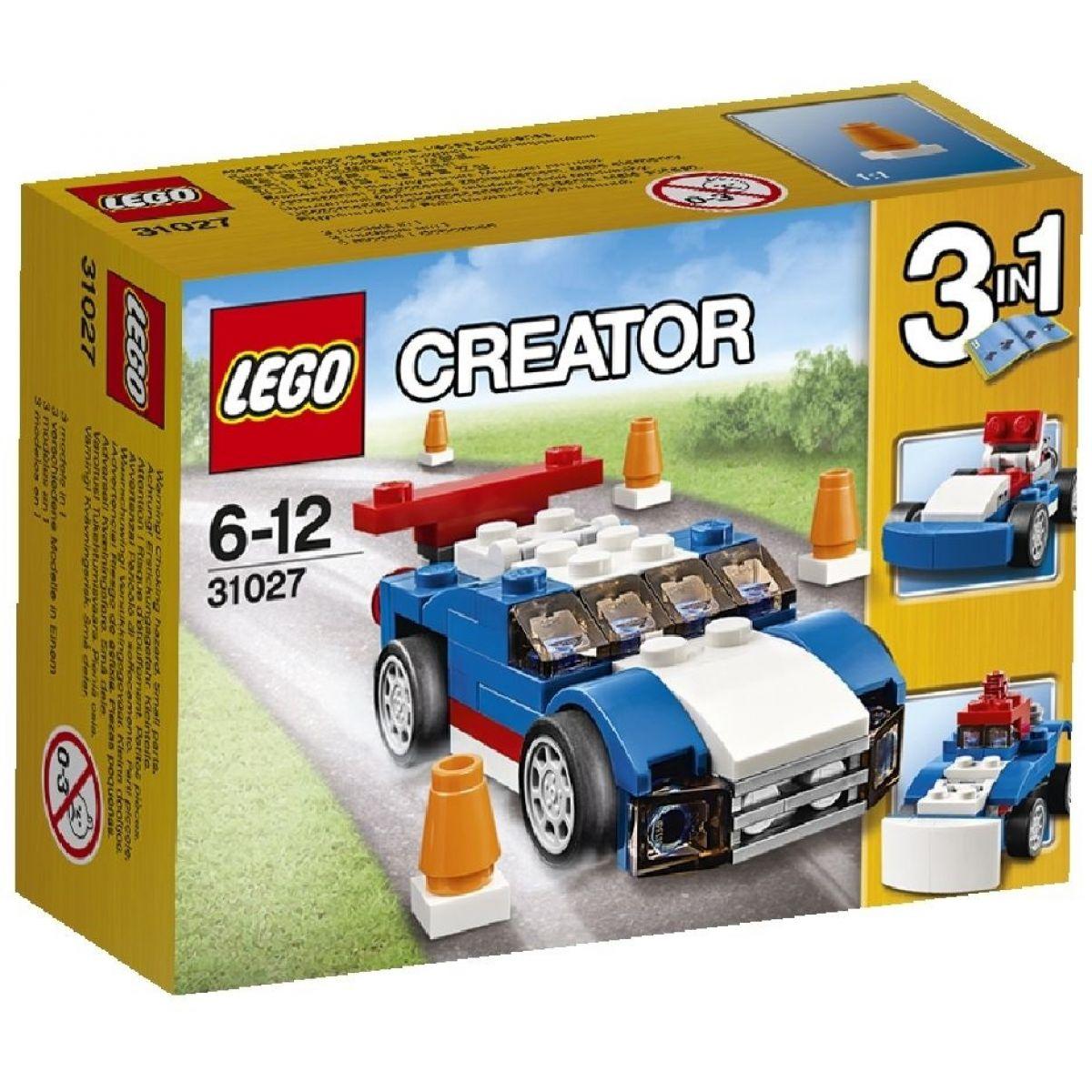LEGO Creator 31027 Modrý závoďák