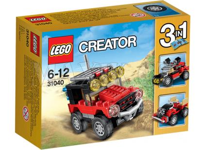 LEGO Creator 31040 Pouštní závoďáky