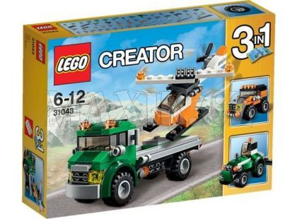 LEGO Creator 31043 Přeprava vrtulníku