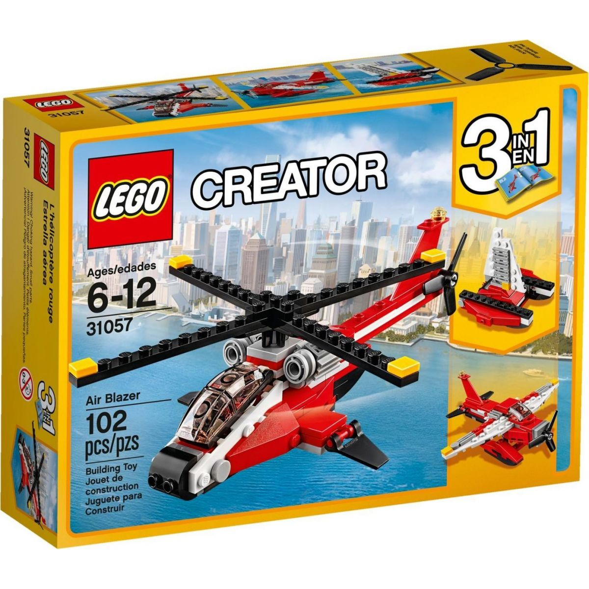 LEGO Creator 31057 Průzkumná helikoptéra - Poškozený obal
