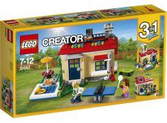 LEGO Creator 31067 Modulární prázdniny u bazénu