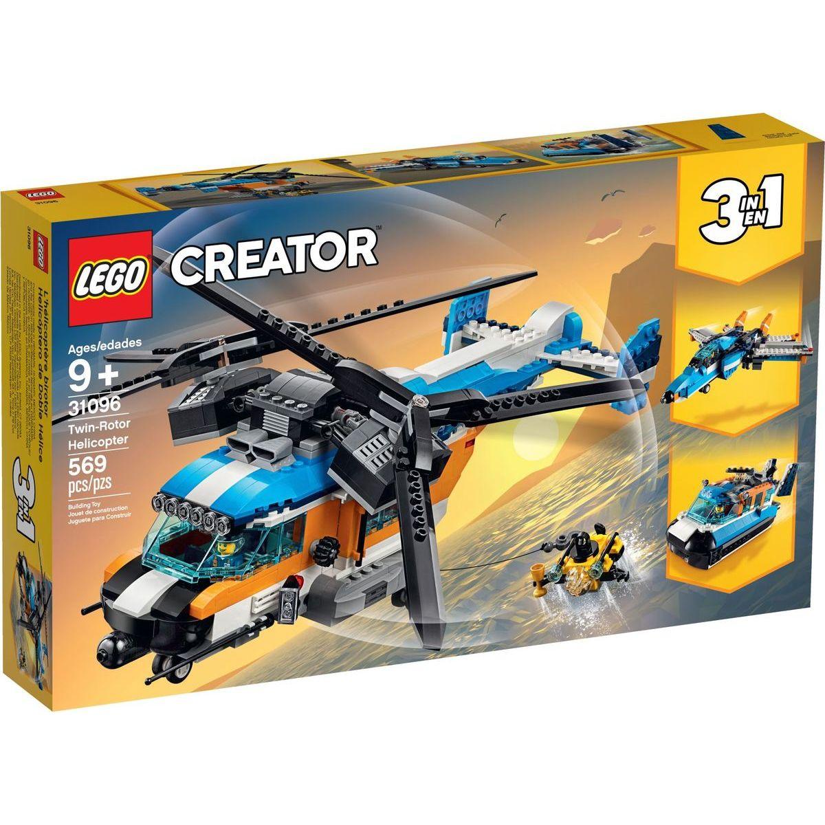 LEGO Creator 31096 Helikoptéra se dvěma rotory - Poškozený obal