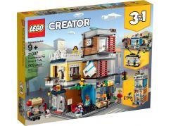 LEGO Creator 31097 Zverimex s kavárnou