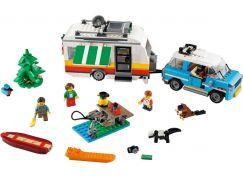LEGO Creator 31108 Rodinná dovolená v karavanu  - Poškozený obal