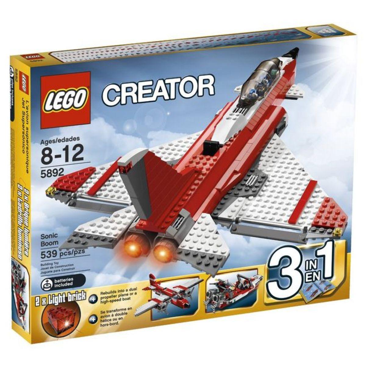 LEGO Creator 5892 Burácející tryskáč