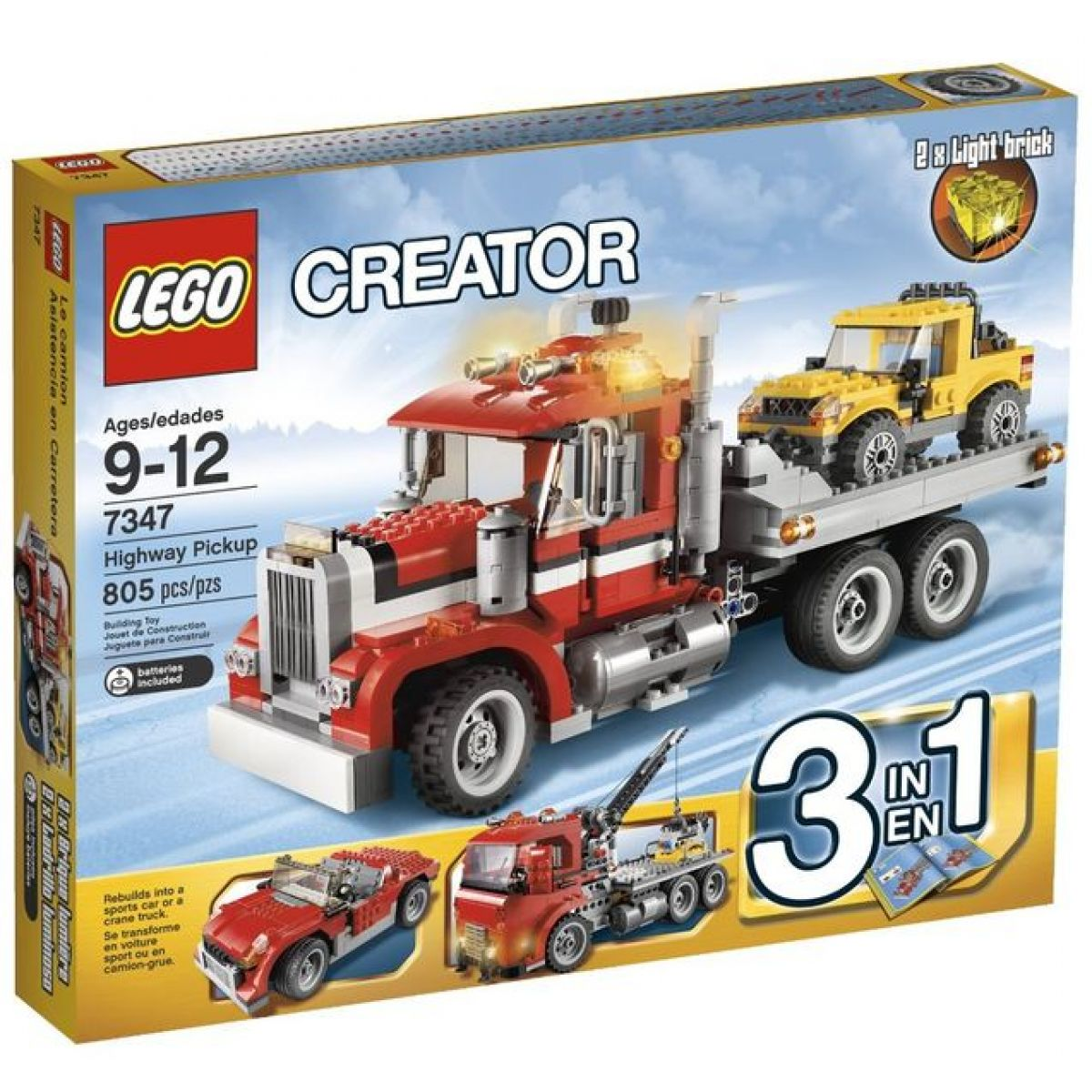 LEGO Creator 7347 Dálniční odtah