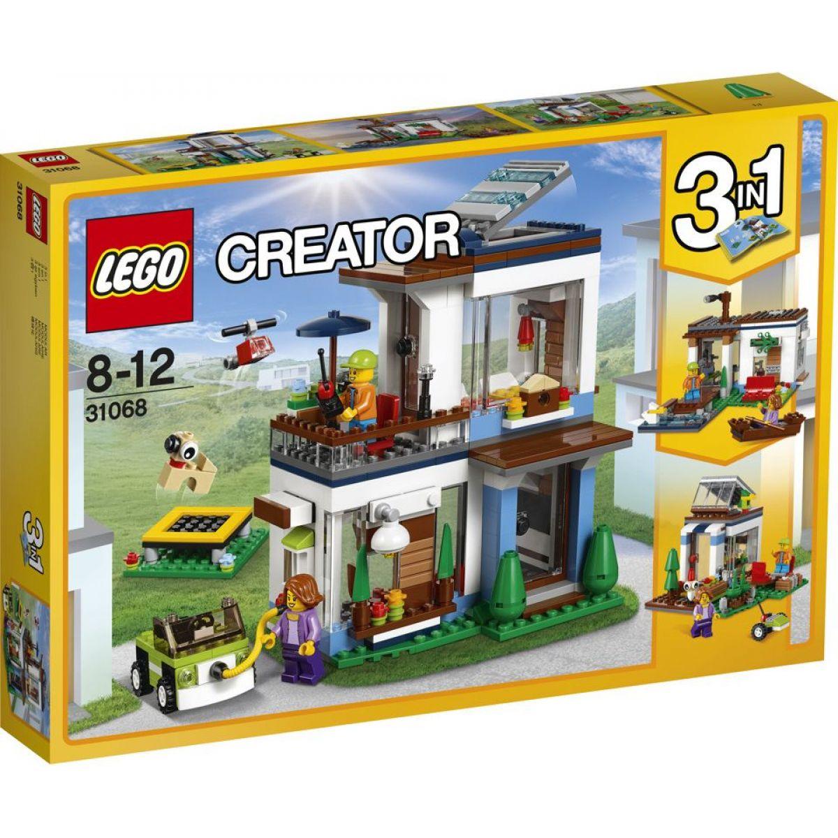 LEGO Creator 31068 Modulární moderní bydlení - Poškozený obal