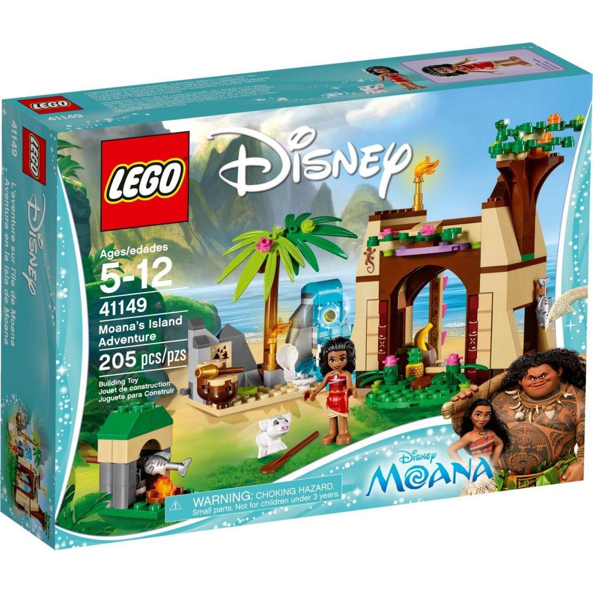 LEGO Disney příběhy 41149 Vaiana a její dobrodružství na ostrově