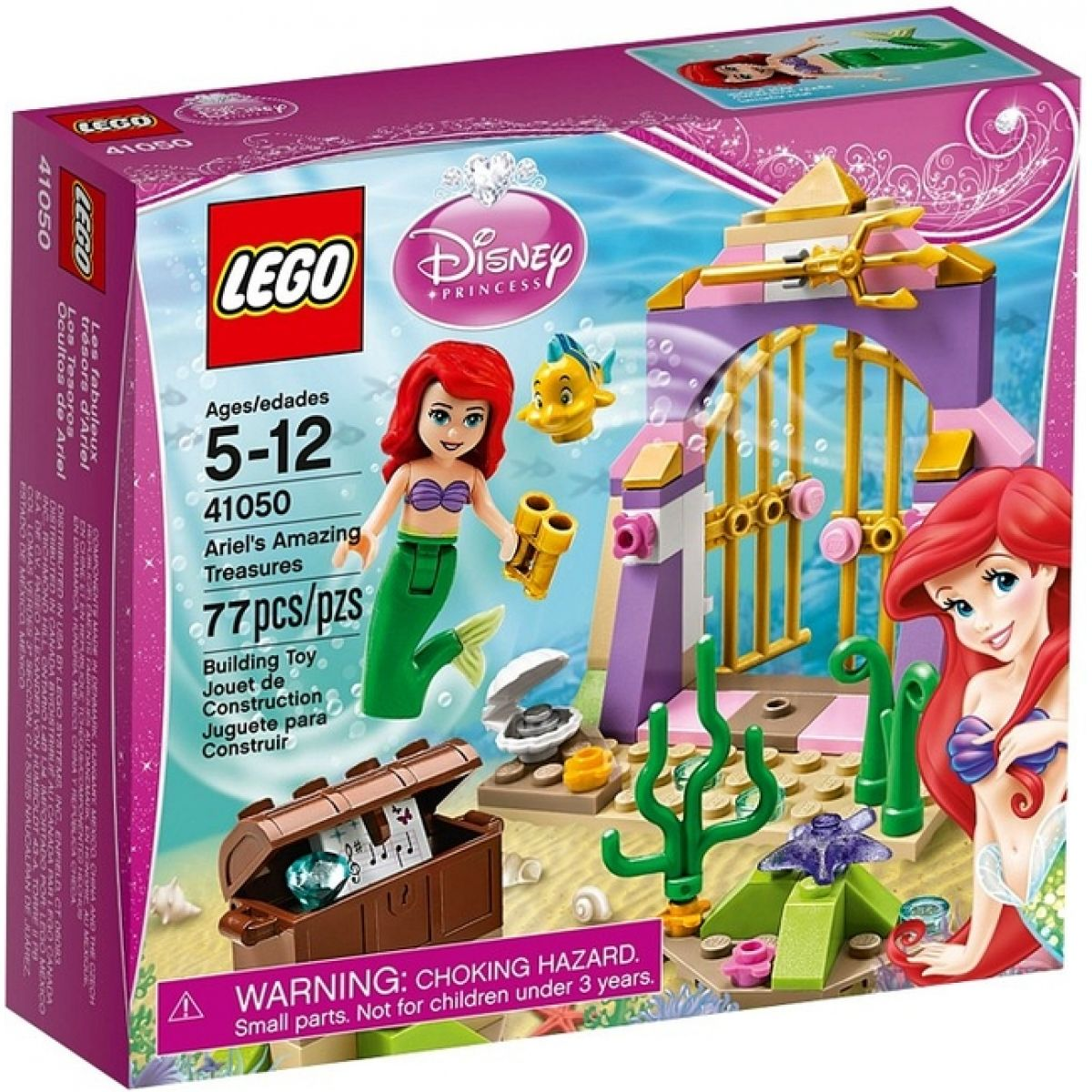 LEGO Disney Princess 41050 Tajné poklady Ariely