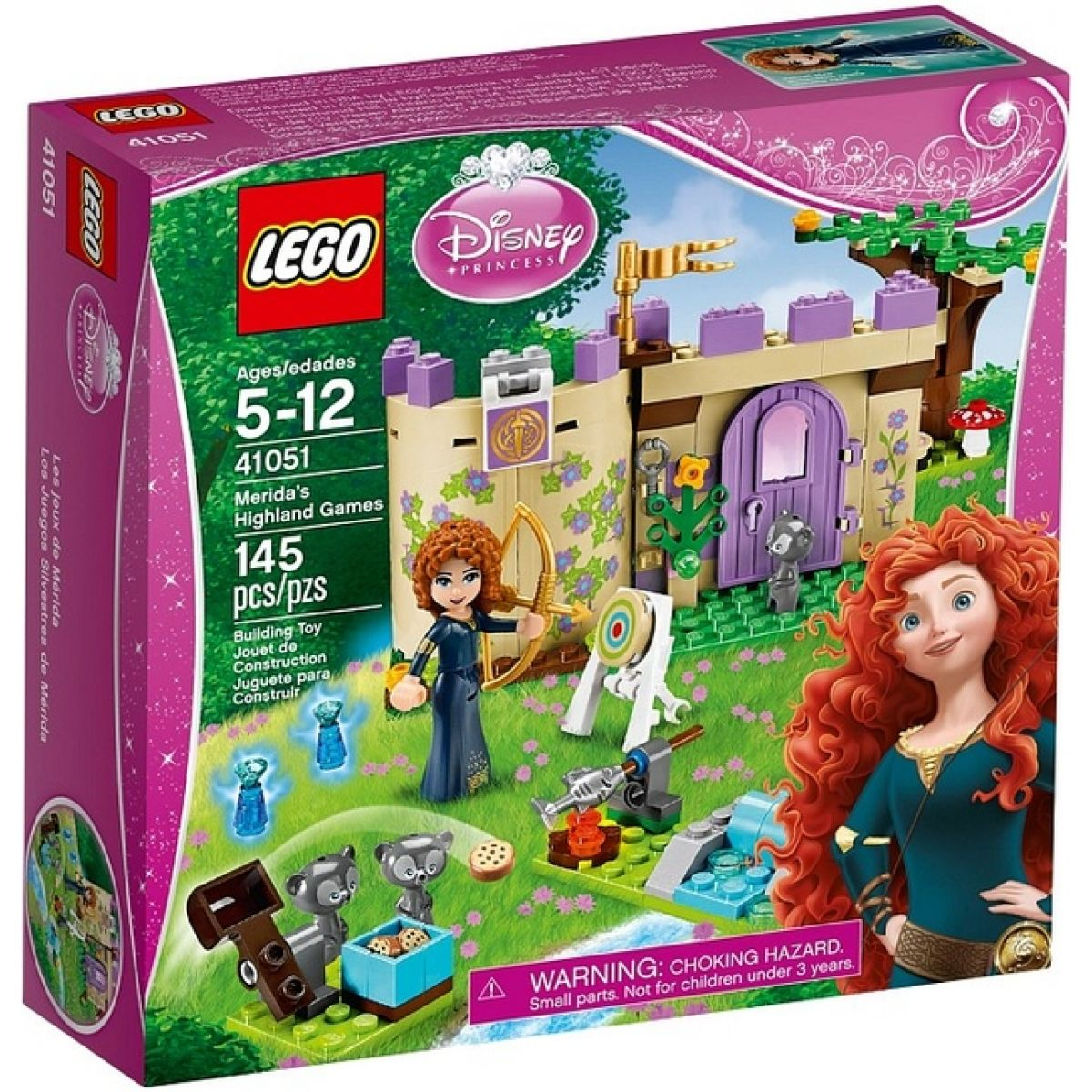 LEGO Disney Princess 41051 Hry princezny Meridy