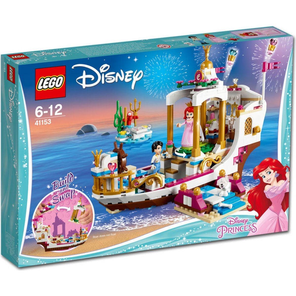 LEGO Disney Princess 41153 Arielin královský člun na oslavy