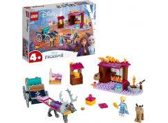LEGO® I Disney Princess™ 41166 Elsa a dobrodružství s povozem