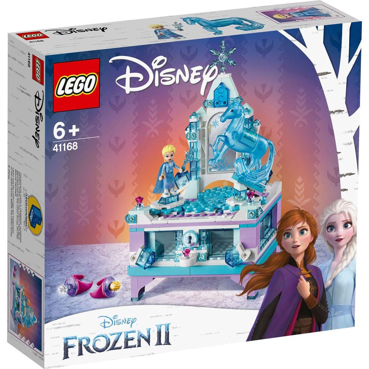 LEGO Disney Princess 41168 Elsina kouzelná šperkovnice - Poškozený obal