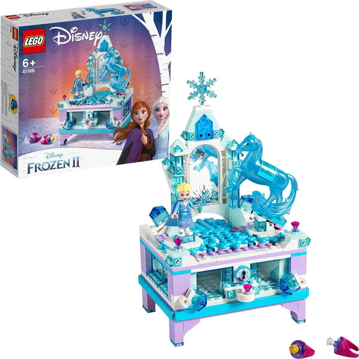 LEGO® I Disney Princess™ 41168 Elsina kouzelná šperkovnice