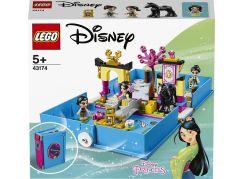 LEGO Disney Princess 43174 Mulan a její pohádková kniha dobrodružství