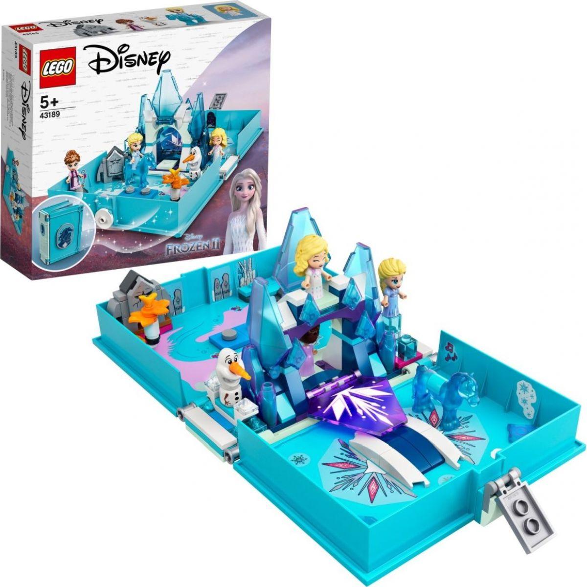LEGO® I Disney Princess™ 43189 Elsa a Nokk a jejich pohádková kniha dobrodružství
