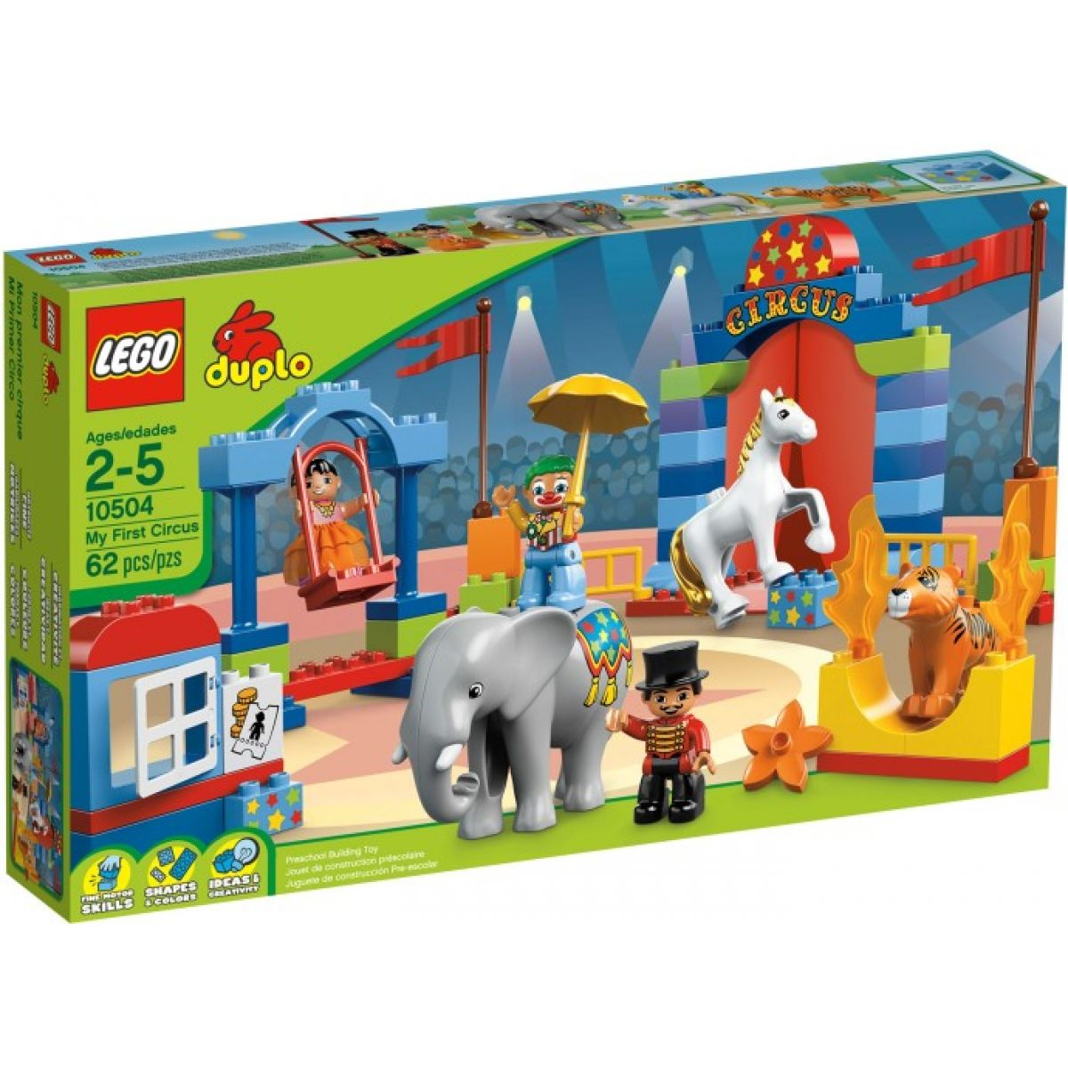 LEGO DUPLO 10504 Můj první cirkus