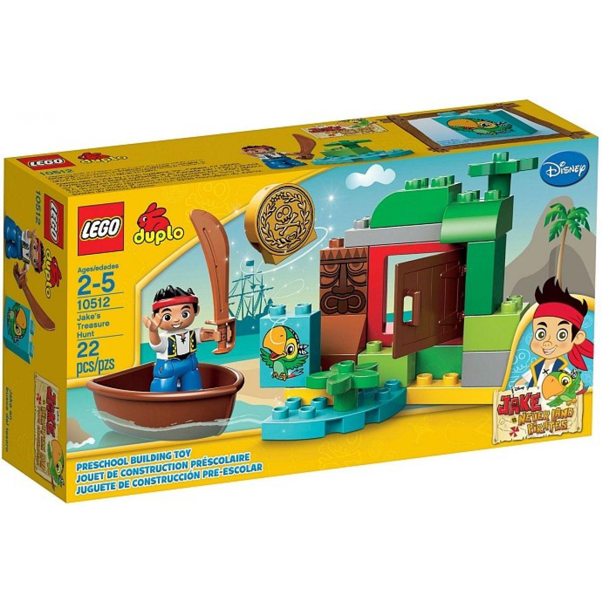 LEGO DUPLO 10512 Jakeova honba za pokladem