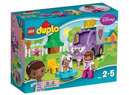 LEGO DUPLO 10605 Doktorka Plyšáková Sanitka Rosie