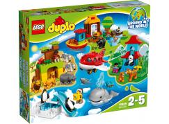 LEGO DUPLO 10805 Cesta kolem světa - Poškozený obal
