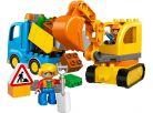 LEGO DUPLO 10812 Pásový bagr a náklaďák 2