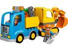 LEGO DUPLO 10812 Pásový bagr a náklaďák 3