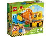 LEGO DUPLO 10812 Pásový bagr a náklaďák