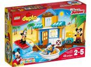 LEGO DUPLO 10827 Mickey a jeho kamarádi v domě na pláži