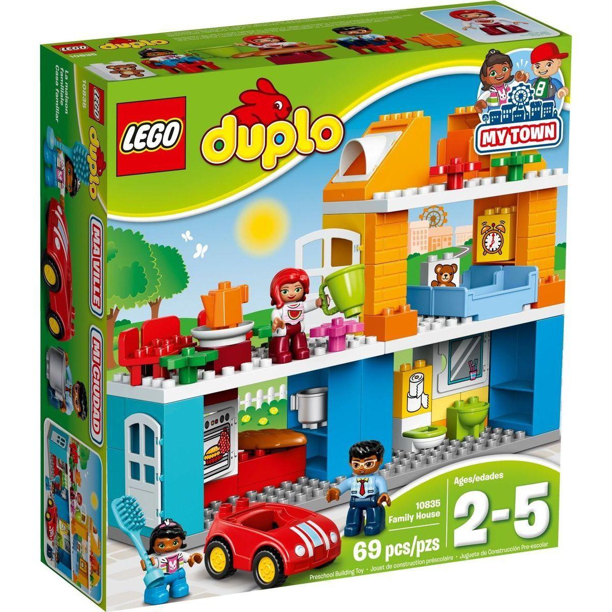 LEGO DUPLO 10835 Rodinný dům - Poškozený obal