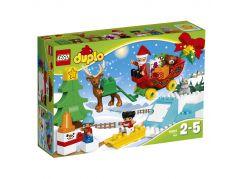 LEGO DUPLO 10837 Santovy Vánoce - Poškozený obal